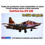1/72 Avion Sukhoi 25 Ub Mig Tanque Mi Mirage Armado Barco Cd