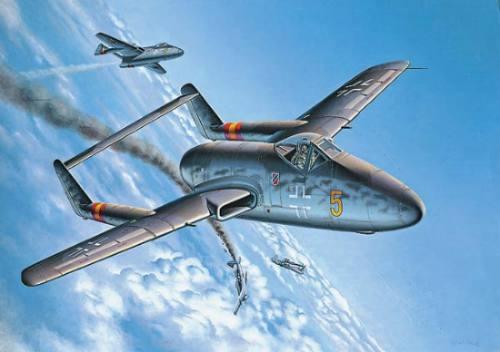 modelismo avion escala 1/72 focke wulf fw revell luftwaffe