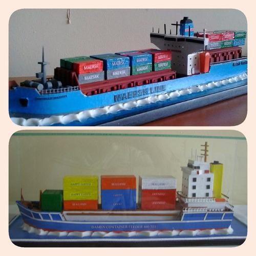 modelismo de buques de carga, veleros, ferrys, lancha,