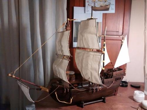 modelismo naval galeón siglo xv en kit.