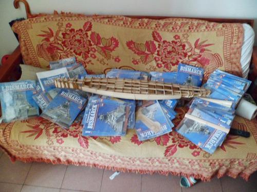 modelismo naval vendo barco de guerra bismarck