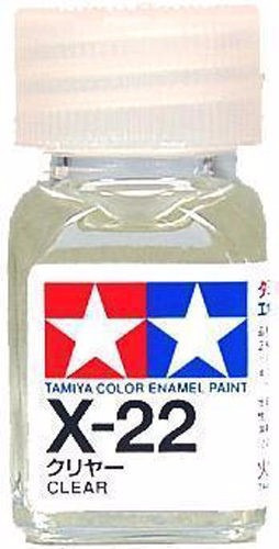 modelismo pinturas tamiya x-22 barniz brillante 1/72 1/48
