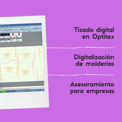 modelista de indumentaria - tizada digital