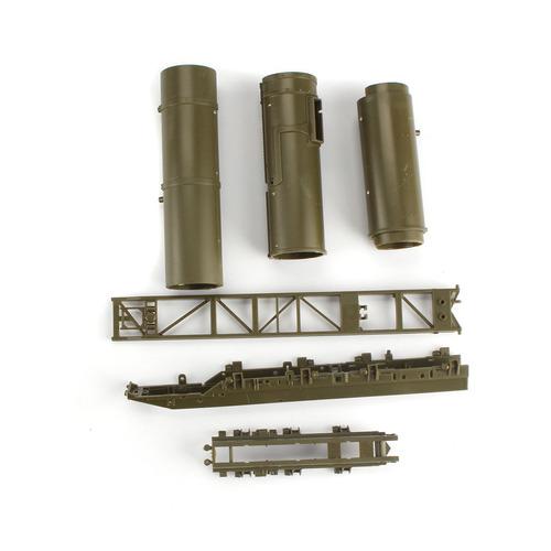 modelo 4d de vehículo lanza misil ruso rt-2pm escala 1:72