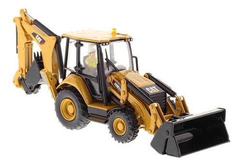 modelo a escala - cat 420f2 it backhoe loader (1:50)