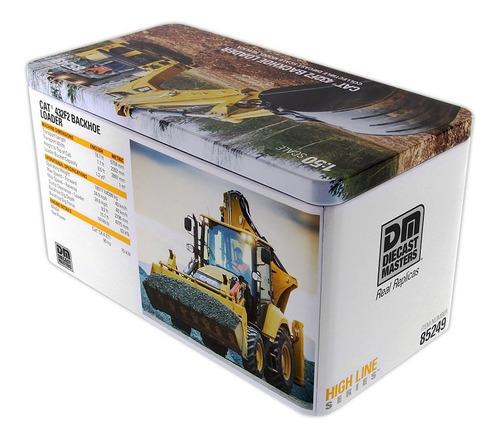 modelo a escala - cat 432f2 side shift backhoe loader (1:50)