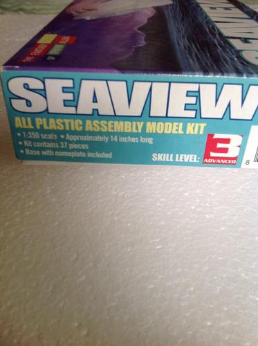 modelo a escala para armar submarino seaview