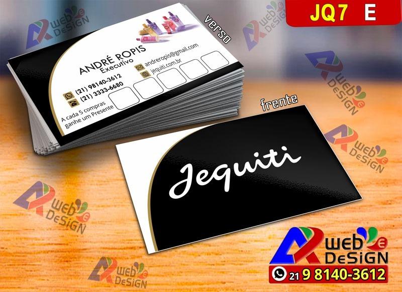 Modelo Cartão De Visita Jequiti Online Jq7e