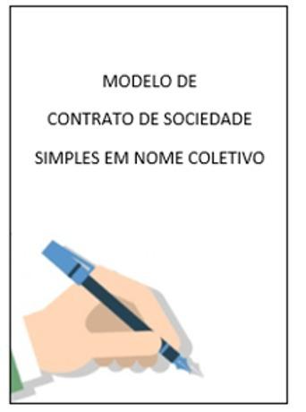 Modelo De Contrato De Sociedade Simples Em Nome Coletivo