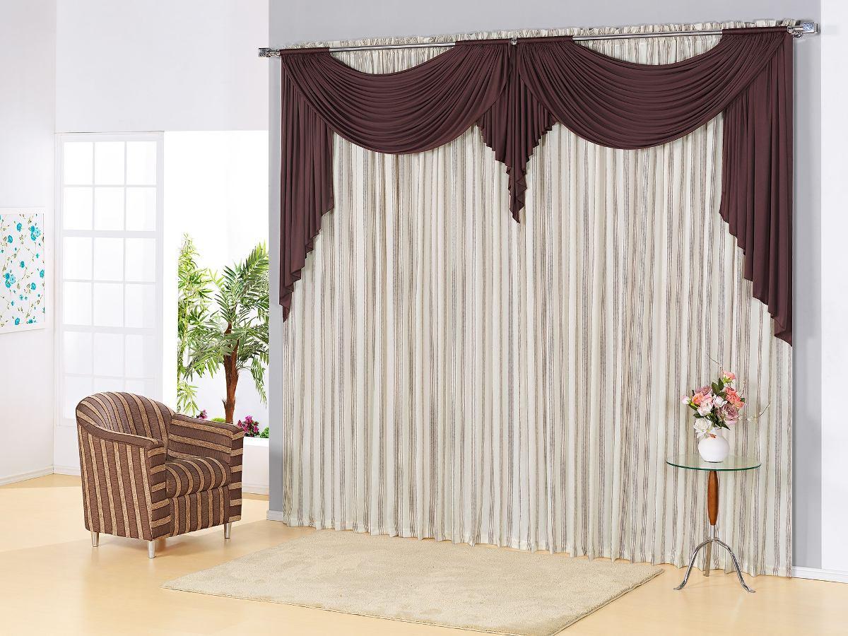 Modelo de cortina lorenza para sala quarto casa apto 15332 for Modelos de cortinas