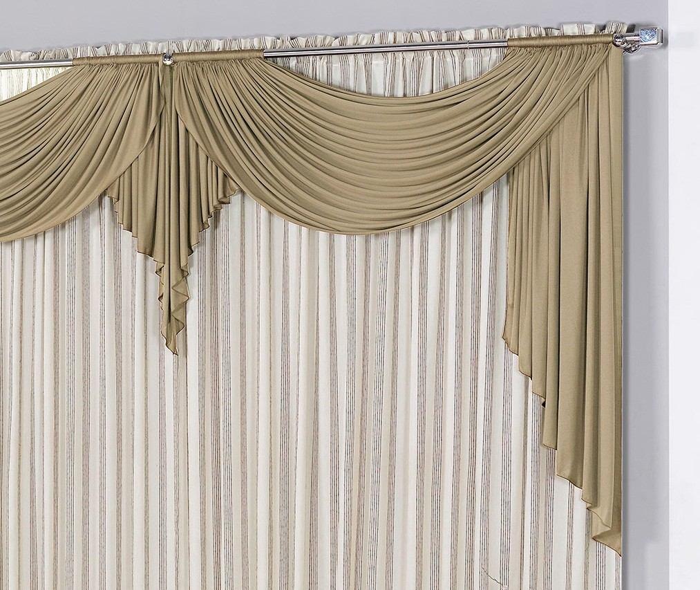 Modelo de cortina para salas quartos em casas ou apto for Cortinas para casa