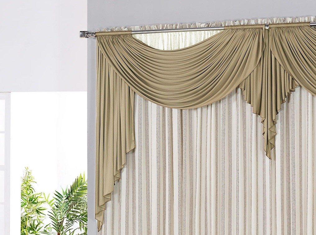 Modelo de cortina para salas quartos em casas ou apto for Ver modelos de cortinas