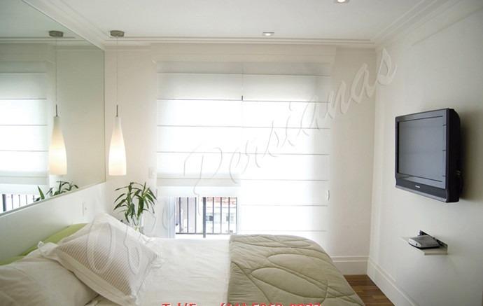 Modelo de cortinas e persianas romana 12x sem juros m - Cortinas tipo persiana ...