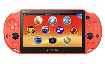 modelo de playstation vita wi-fi neon orange (pch za24) ja