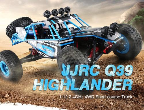 modelo del carro del desierto de jjrc q39 highlander 4wd rc