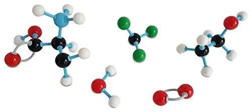 modelo modular de moleculas 306pcs átomos, enlaces, orbitale