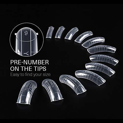 modelones 120pcs formas de uñas dobles cubierta completa ge