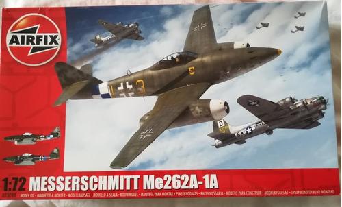 modelos a escala 1/72 avion messerschmitt 262 airfix tamiya