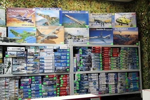 modelos a escala aviones sovieticos 1/72