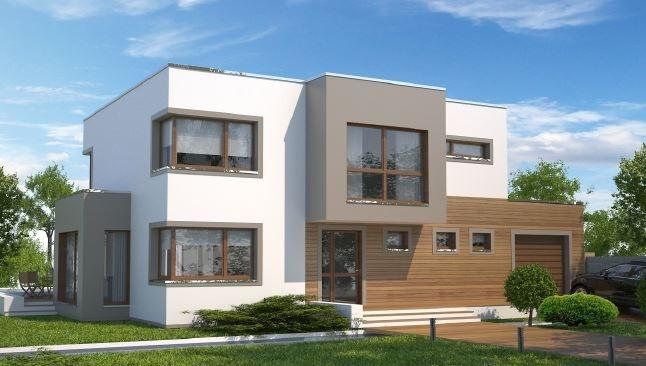 Modelos casas modernas leia o anuncio retirar frete r for Disenos de frentes de casas modernas