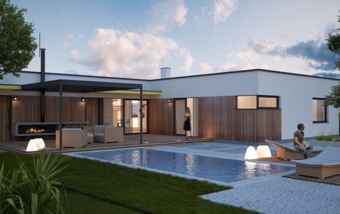 Modelos casas t rreas leia o anuncio retirar frete r for Modelos de casas minimalistas pequenas