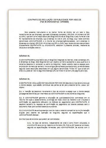 modelos de contrato de compra e venda locação procuração etc