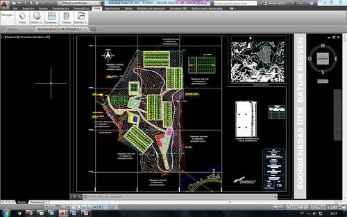 modelos en etabs, urbanismos en general y tutorias de tesis.