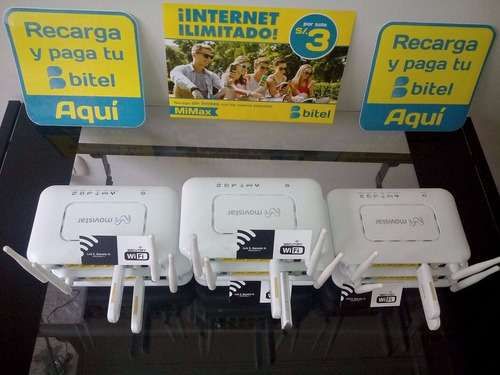 modem 3g + modem bitel  + chip a tu nombre + s/30 saldo