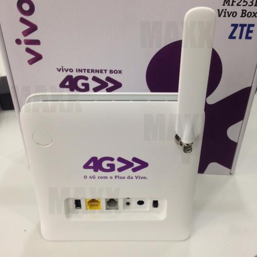 modem 4g 3g roteador wifi zte mf253l vivo box mf253 promoção