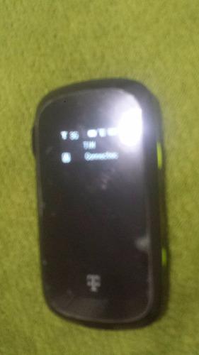 modem 4g 3g zte usb com bateria mf61 - seminovo