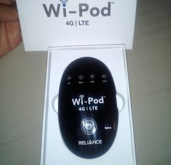 Reliance Wifi Pod