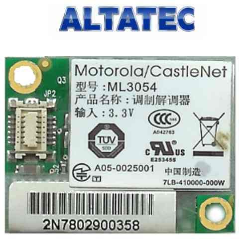 modem 56k motorola ml3054 positivo v45  6-88m55s1-531