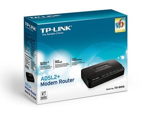 modem adsl banda ancha cantv internet rj-45 tplink td-8616