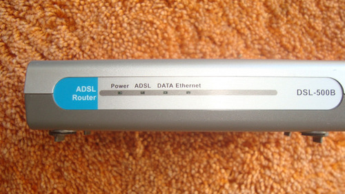 modem adsl router d-link 500b