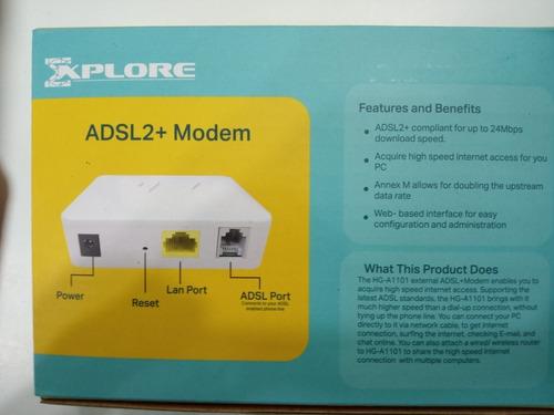 modem adsl2+ banda ancha explore cantv