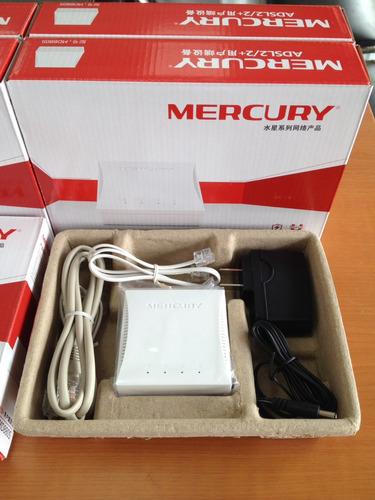 modem adsl2 mercury md880s internet