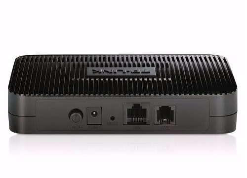 modem adsl2/2 + roteador tp-link td-8817 frete grátis