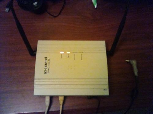 modem axesstel cdma axw-d800, internet ilimitado