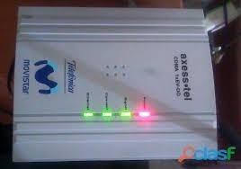 modem axesstel con linea +  internet ilimitado 96 vendidos