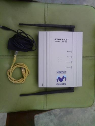 modem axesstel internet ilimitado