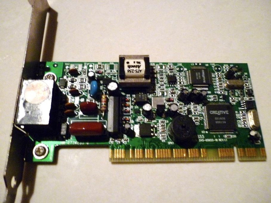 CREATIVE Modem V.92 PCI Windows 7 64-BIT