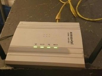 modem con linea internet ilimitado axess + actualizacion