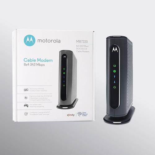 modem de internet cable motorola para inter mb7220