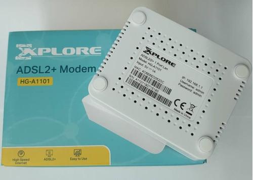 modem explore cantv adsl2+ hg-a1101 aba internet
