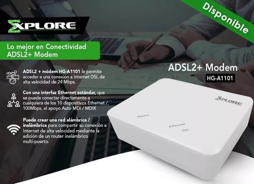 modem explore hg-a1101 adsl2+ internet banda ancha aba cantv