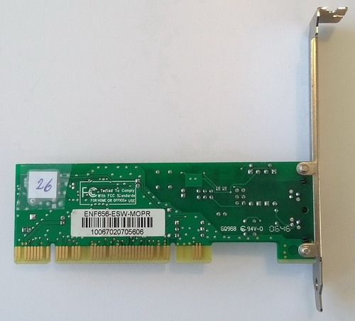 modem fax slot pci 56k dial up chip motorola