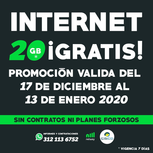 modem internet prepago