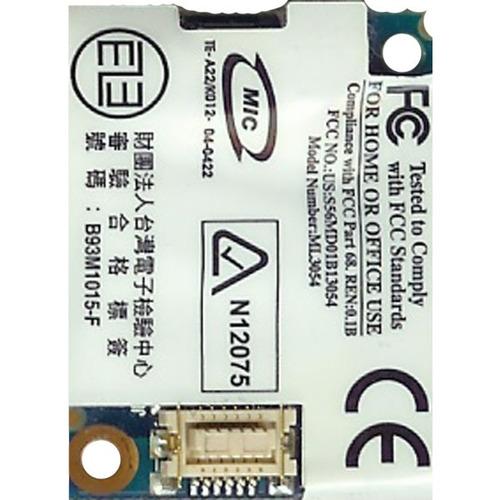 modem ml3054 asus a6j 109ah-ml3054 itautec n8310 vgn-sz491n