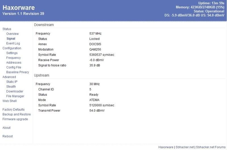 sb5101 haxorware