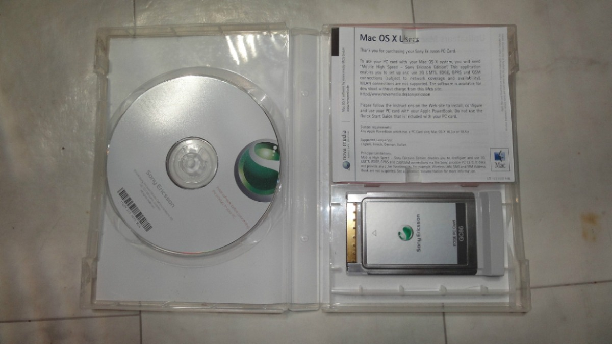 SONY ERICSSON GC86 DRIVERS FOR MAC
